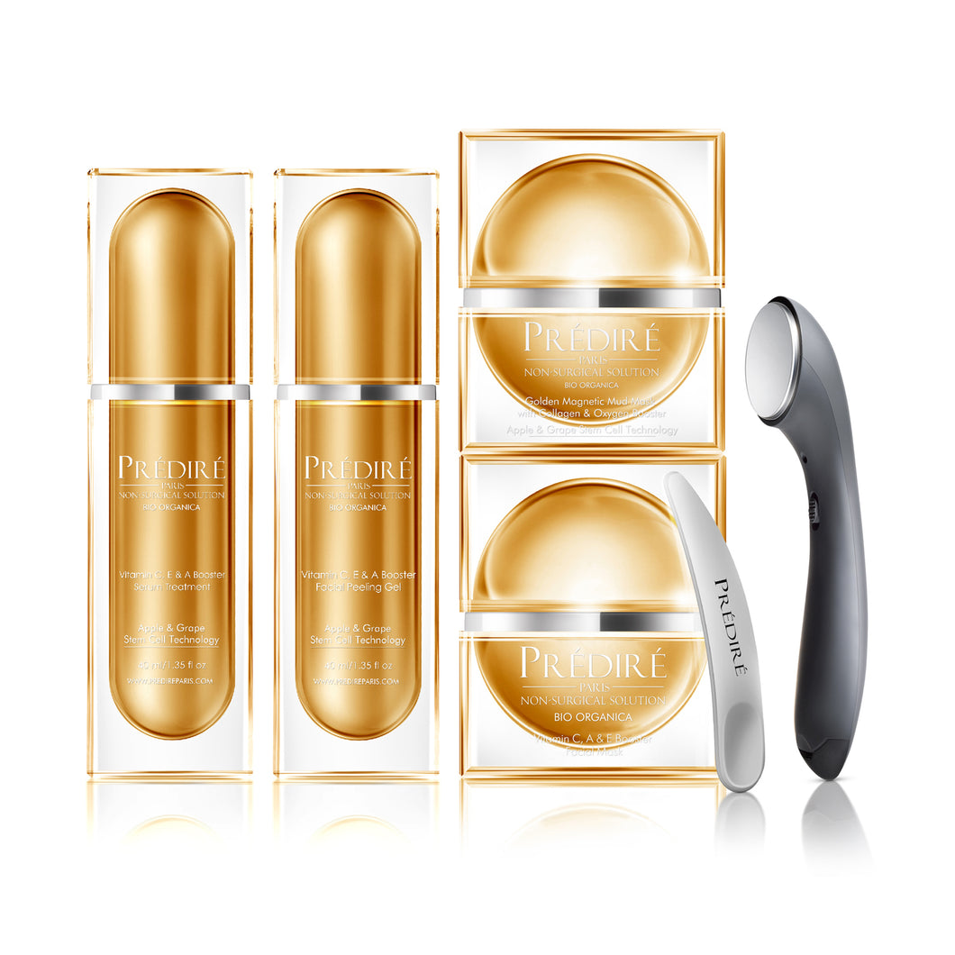 Vitamin C, E & A Booster & Hydrating Collection with Skincare Infuser