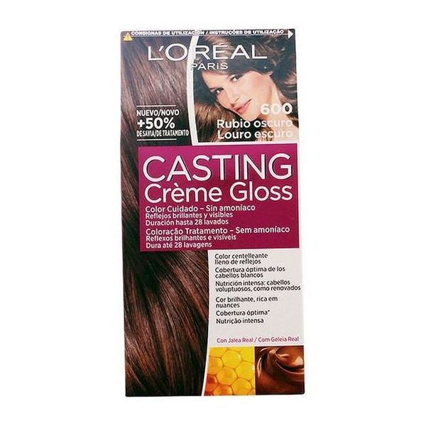 Tinte Sin Amoniaco Casting Creme Gloss L'Oreal Expert Professionnel Rubio oscuro - My Beauter Shop