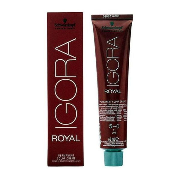 Tinte Permanente Igora Royal Schwarzkopf - My Beauter Shop