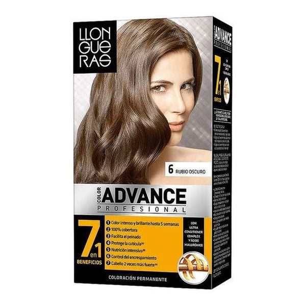 Tinte Permanente Color Advance Llongueras - My Beauter Shop