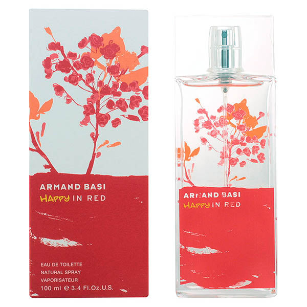 Perfume Mujer Happy In Red Armand Basi EDT - My Beauter Shop