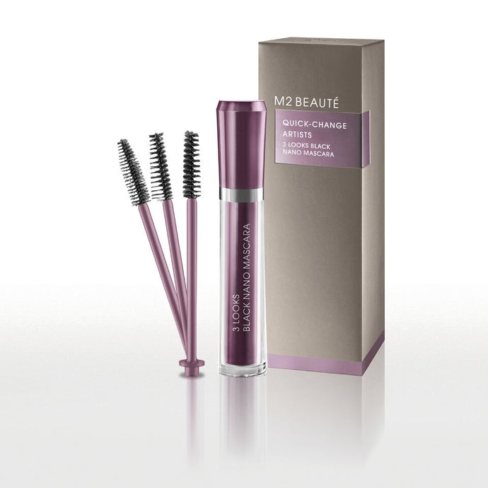 3 Looks Black Nano Mascara - My Beauter Shop
