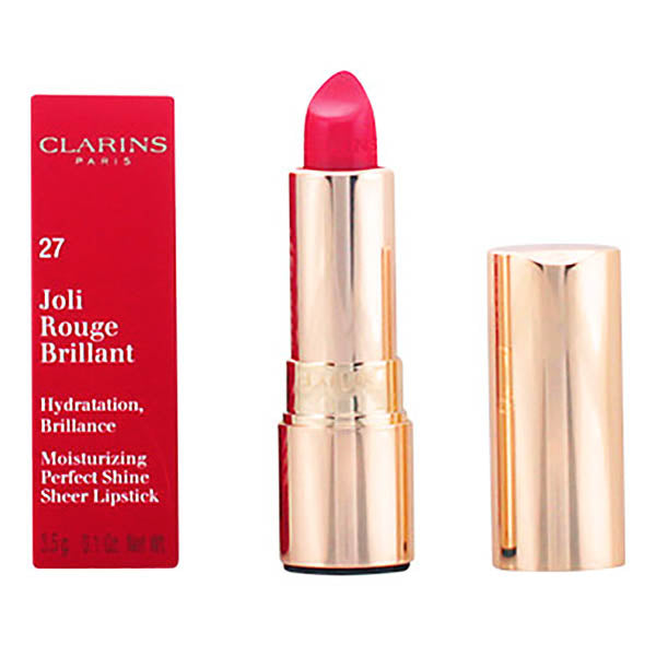 Clarins - JOLI ROUGE BRILLANT 27-fushia 3,5 gr - My Beauter Shop