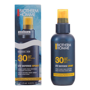 Biotherm - HOMME UV DEFENSE SPORT spray corps SPF30 125 ml - My Beauter Shop