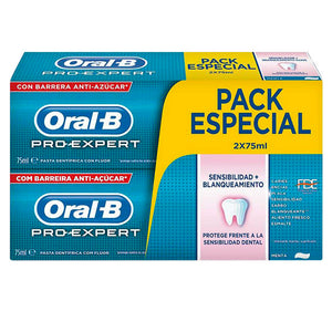Oral-b - PRO-EXPERT SENSIBILIDAD&BLANQUEANTE SET 2 Pcs. - My Beauter Shop