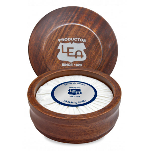 Lea - LEA CLASSIC shaving soap in wooden bowl 100 ml - My Beauter Shop