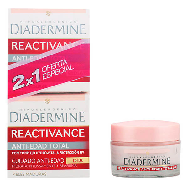 Diadermine - REACTIVANCE antiedad TOTAL LOTE 2 pz - My Beauter Shop