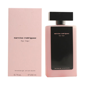 Narciso Rodriguez - NARCISO RODRIGUEZ FOR HER gel de ducha 200 ml - My Beauter Shop