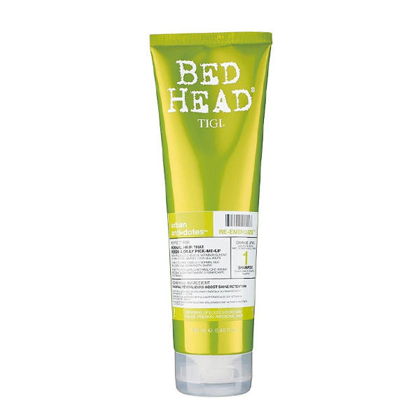 Tigi - BED HEAD re-energize shampoo 250 ml - My Beauter Shop