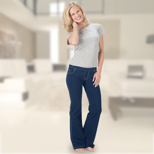 Pantalón Confort Jeans Fashinalizer - My Beauter Shop