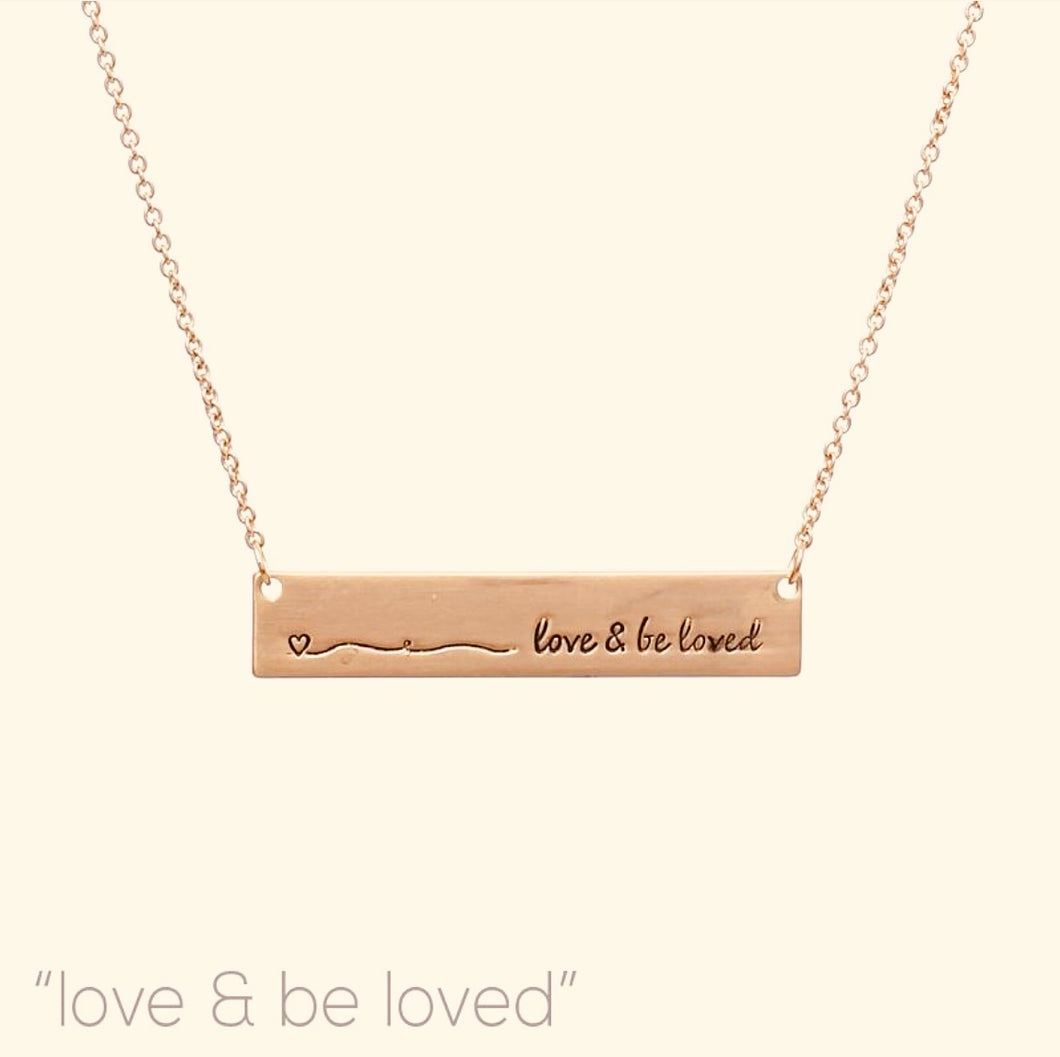 Love & Be Loved Necklace