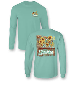 Sunflower Long Sleeve T shirt