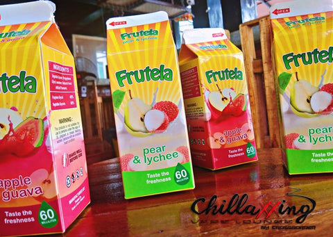 frutela fruit flavor e juice e liquid pear lychee apple guava 60ml nicotine