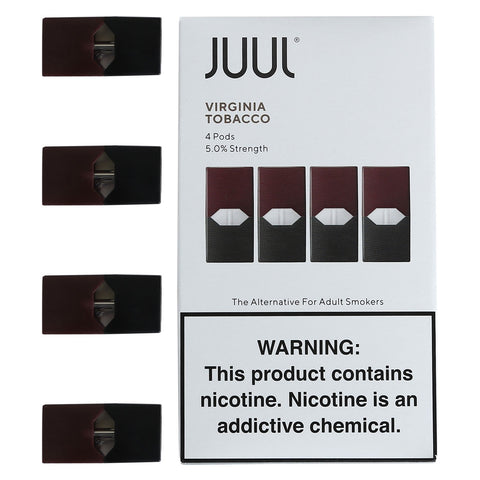 JUUL Pods Flavors (4 Packs) - Virginia Tobacco