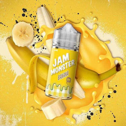 JAM MONSTER - Banana - 100ml