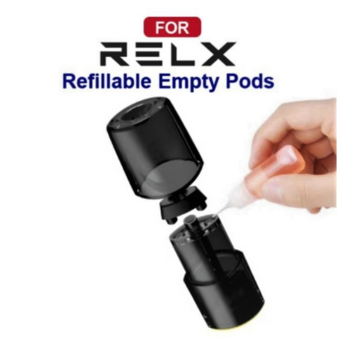 RELX Refillable Pods for Relx Classic (First Gen Relx)