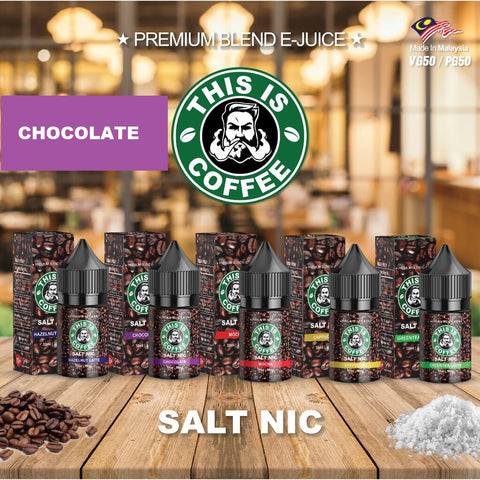 This Is Coffee - Chocolate (Salt Nic)