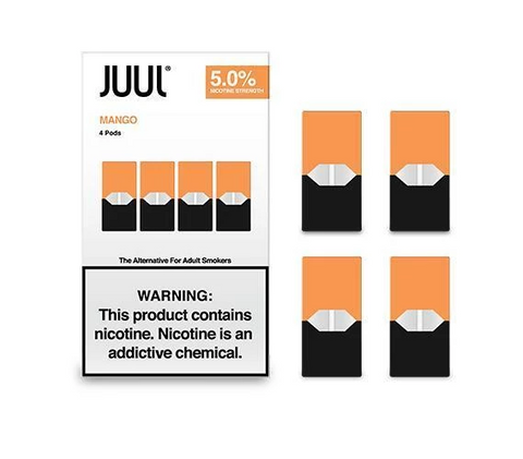 JUUL Pods Flavors (4 Packs) - Mango