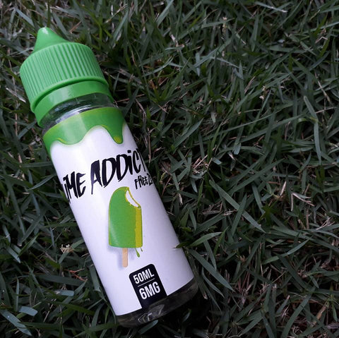 Lime Addict (Ice Cream) - 50ml