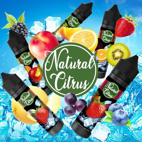 Natural Citrus - Mango / Peach / Blackcurrant (60ml)
