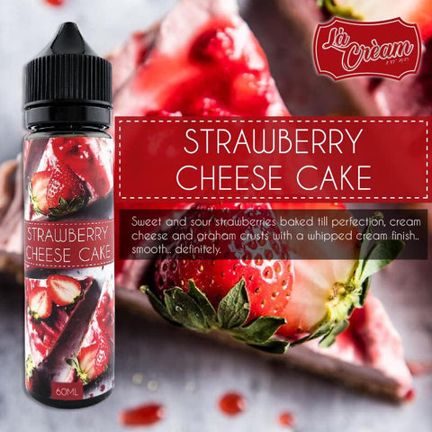 La Cream - Strawberry Cheese Cake - 60ml