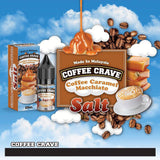 COFFEE CRAVE (SALT NIC) - Coffee Caramel Macchiato