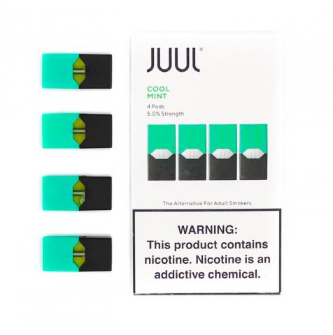 JUUL Pods Flavors (4 Packs) - Cool Mint