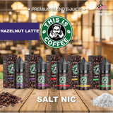 This Is Coffee - Hazelnut Latte (Salt Nic) - 30ml