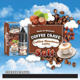 COFFEE CRAVE (SALT NIC) - Coffee Hazelnut Latte