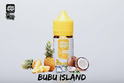 SHIOKOJO Salt Nic - Bubu Island Salt - 30ml