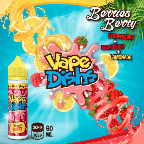 Vape Dishs - Berries Berry - 60ml