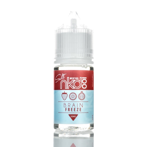 NKD 100 Salt - BRAIN FREEZE (MENTHOL) - 30ML