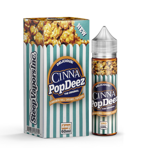 Cinna - Pop Deez (CINNAMON POP CORN)