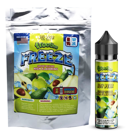 FREEZE - Joy Pear - 60ml + (10ml Cooling Shot) by frooties