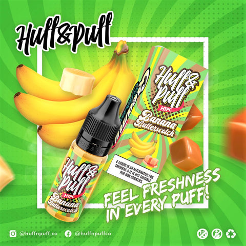 Huff & Puff - Banana Butterscotch (HTPC) 20ml