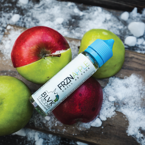 BLVK UNICORN FRZN APPLE EJUICE - 60ml