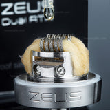 Geekvape Zeus Dual Coil RTA (with Bubble Glass)