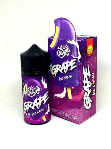 Solero Lime (Ice Cream) Grape - 100ml