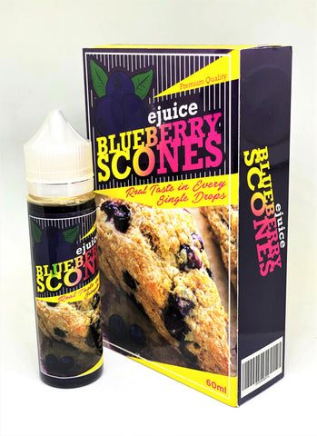 EJUICE BAR - BLUEBERRY SCONES (BBS) - 60ml