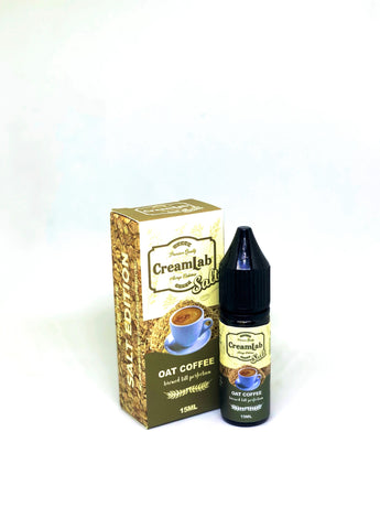 CreamLab Salt - Oat Coffee 15ml