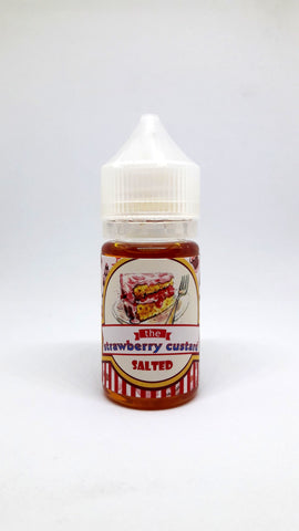 The Strawberry Custard SALTED (Salt Nic)