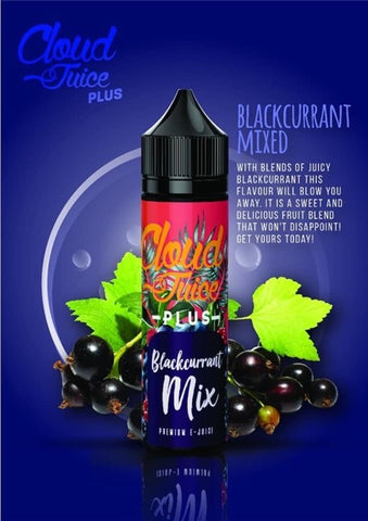Cloud Juice Plus - Blackcurrant Mixed - 60ml