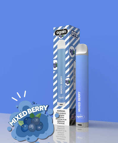 Again Disposable Vape Pod (Internal Battery) - Mixed Berry