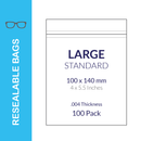 Resealable Bags (Various Sizes)