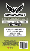 70x120mm Mayday Tarot Card Sleeves (Standard/Premium)