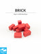 Brick Tokens (Pack of 10)