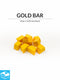 Gold Bar Tokens (Pack of 10)