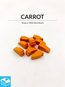 Carrot Tokens (Pack of 10)