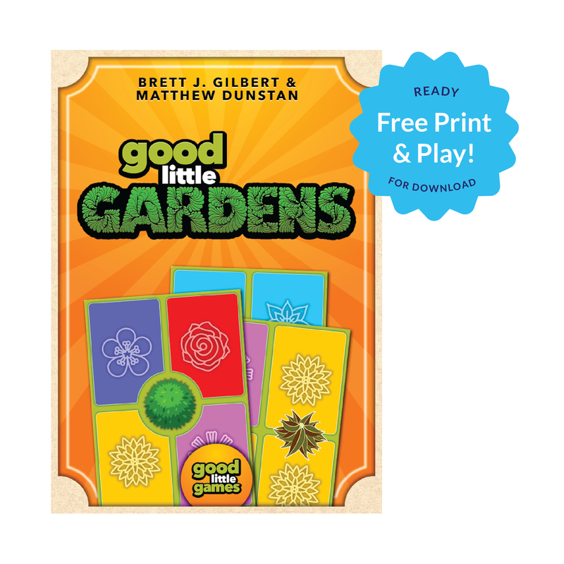 FREE Good Little Gardens (Print and Play)
