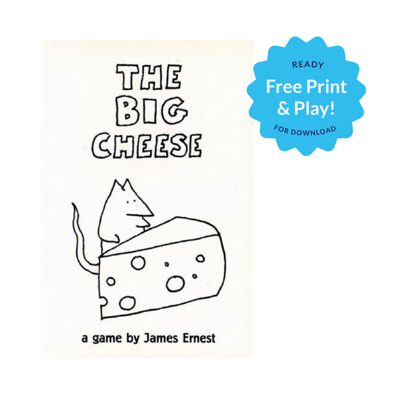FREE The Big Cheese (Print and Play)